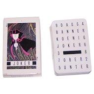 "AG Muller ""Basler Fasnachtskarten 1986"" Playing Cards, Dominik Heitz Designs, c.1986"