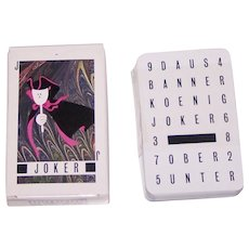 "AG Muller ""Basler Fasnachtskarten 1986"" Playing Cards, Dominik Heitz Designs, c.1986"