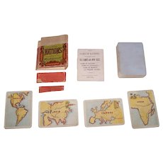 """McLoughlin Bros. """"Game of Nations"""" (49/52), c.1875"""