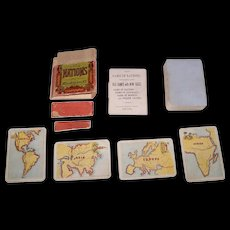 "McLoughlin Bros. ""Game of Nations"" (49/52), c.1875"