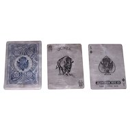 "Aluminum Mfg. Co. ""Aluminum Playing Cards,"" Pan American Exposition, c.1901"