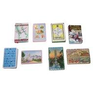 8 Decks Souvenir Playing Cards, Various Makers, $10/ea.