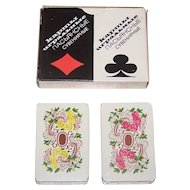 """Double Deck Russia State Printing Works """"Rococo"""" Patience Playing Cards, c.1982"""