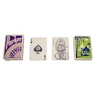 "India ""Parker"" Playing Cards, Maker Unknown, Exceptional Joker, c.1920s"