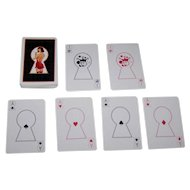 """""""Keyhole"""" Pin-Up Playing Cards, Maker Unknown"""