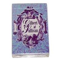 "Carta Mundi ""Gilbert & Sullivan"" Playing Cards, R. Somerville Publisher, Don Jack Designs, c.1994"