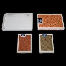 "Double Deck USPC ""Virginia Slims"" Playing Cards, Original Packaging, c.1985"
