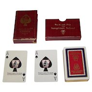 "Pennsylvania Railroad ""Broadway Limited"" Pinochle Playing Cards, c.1923"