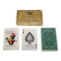 """Piroxloid Products Corporation """"Celluloid"""" Playing Cards, c.1928"""