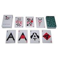 """Galewski Druk """"Figuris"""" Playing Cards, Roman Galewski Designs (?)"""