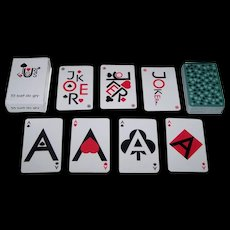 "Galewski Druk ""Figuris"" Playing Cards, Roman Galewski Designs (?)"