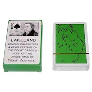 "Carta Mundi ""Lakeland"" Playing Cards, Stuart Lawrence Designs,"