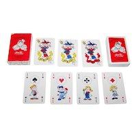 "Carta Mundi ""Stripgidsprijs 1981"" Playing Cards, Jean-Pol Designs, ""Annie en Peter"", c.1981"