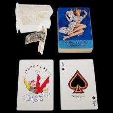 "Brown & Bigelow ""Brighton Motors"" Advertising Pin-Up Playing Cards, Gil Elvgren Designs, c.1940s"