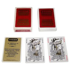 """Editions Dusserre """"Vygon"""" Playing Cards, Jean Blanc Designs (?), c.1976"""