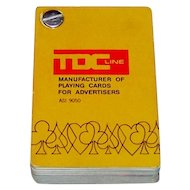 "TDC ""Salesman Sample Deck,"" Advertising Cards, c. 1980"
