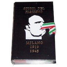 "Il Meneghello ""Storia del Fascismo"" Playing Cards, Ltd. Ed. (¬¬¬___/2,000), Fascist Suits, c.1989"