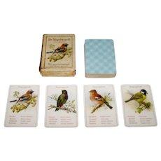 """Dondorf No. 351 """"De Vogelwereld"""" Quartet Card Game, c.1910"""