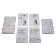 "Naipes de la Cigüeňa ""Baraja Napoleōnica"" Playing Cards, Limited Modern Edition (162/200) [Original by José Leon, J. Carrafa Designs, 1811], c.1991"