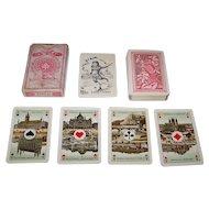 "Van Genechten ""No. 100"" Playing Cards, Dutch/Flemish Pattern, c.1910"