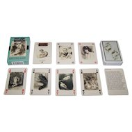 """Lo Scarabeo (Modiano?) """"Baudelaire"""" Playing Cards, Lobel Riche Designs"""