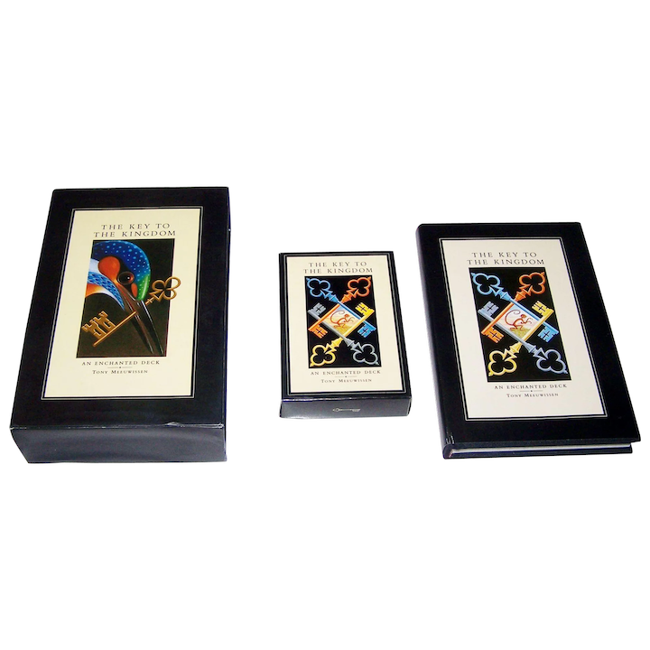 """Running Press """"The Key to the Kingdom"""" Transformation Playing Cards w/  Book, Tony Meeuwissen Designs, c 1992"""