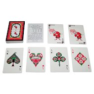 "Playwell Printers ""Air India"" Playing Cards, c.1980"