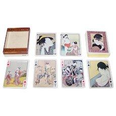 "Ace ""Ukiyo-e"" Playing Cards, c.1953"