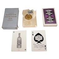 "USPC (Canada) ""Burnett's White Satin Gin"" Playing Cards, c. 1915-1918"