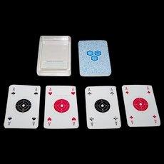 """Rudolf Bechtold and Co. """"Spielkarte für Schützen"""" (""""Shooters Playing Cards"""") Skat Playing Cards, Designs by Karl Heinz Lanz, August Kaulbach, Fritz Uhlich, c.1966"""