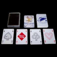 "Tai Wah Ltd. ""Clamcleats"" Playing Cards, Celia Allison Designs, c.1986"