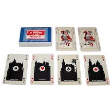 """Drukkerij Juten """"De Kloof"""" Playing Cards, Walter Hagenaars Designs, c.1969"""
