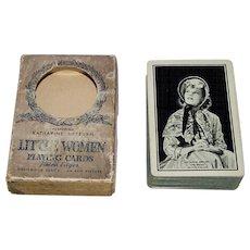 "Western ""Katherine Hepburn Little Women"" Playing Cards (52/52, NJ), Hollywood Series, c.1933"