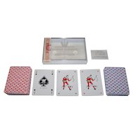 """Double Deck """"Aspiotis-Elka A.E."""" Playing Cards, c.1975"""