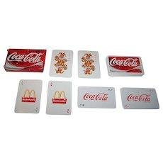 "Carta Mundi ""McDonalds/Coca Cola"" Advertising Playing Cards, Euro 2004 Portugal (?)"
