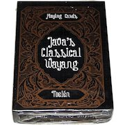 "Toelen ""Java's Classical Wayang"" Playing Cards, c.2000"