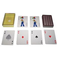 """Nintendo """"Brother"""" Playing Cards, Brother Industries, c.1978"""