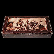 """Philip Morris """"Old West"""" Poker Set, w/ Cards, Poker Chips and Booklet, c.1970s"""