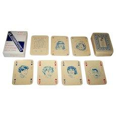"""Menotti Cossu """"La Combriccola"""" Playing Cards, Salvatore Coniglio Designs, Ltd. Ed. (64/450), c.1981"""