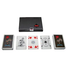 """Double Deck """"Litografia Maia"""" Playing Cards, c.1970"""