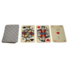 """Ceska Graficka Unie """"Viennese Large Crown"""" Playing Cards, c.1920"""