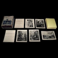 "J. Jaques & Son ""The National Gallery (British School)"" Card Game, c.1890"