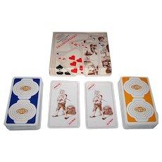 """Double Deck """"Cito"""" (""""Paramedisch en Medisch Uitzendburo"""") Playing Cards, Maker Unknown, c.1980"""