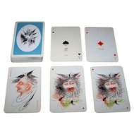 "Piatnik ""Anton Lehmden"" Playing Cards, Edition Hilger, Anton Lehmden Designs, c.1981"