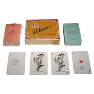 "Double Deck OTK ""Baker's Emperor"" Patience Playing Cards, c.1950s"