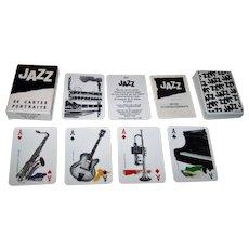 "Grimaud ""Jazz"" Playing Cards, Yannick Pennanguer Designs, c.1989"