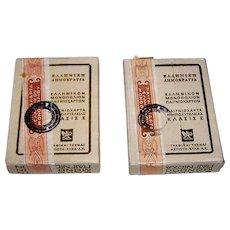 """2 Decks """"Aspiotis-Elka A.E."""" Playing Cards, c.1975"""