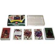 "Double Deck Coeur ""Schauspiel"" Playing Cards, Peter Becker Designs, c.1987"