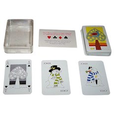 """Waddingtons """"Christmas 1980"""" Playing Cards, ASS Maker, c.1980"""