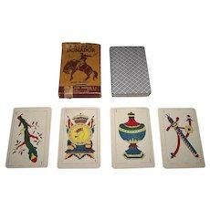 "Cia General Fabril Financiera S.A. ""Domador"" Playing Cards, c.1950"